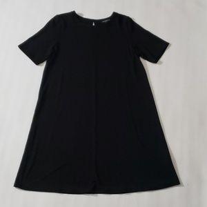 Eileen Fisher Jersey Knit Shift Dress Petite S